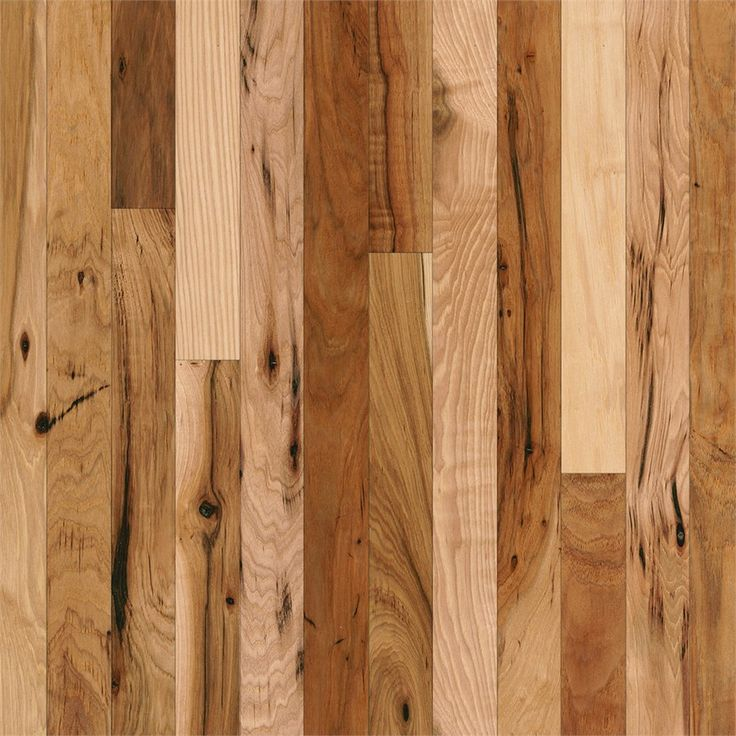 Bruce Frisco 2.25-in W Prefinished Hickory Hardwood Flooring (Country Natural)