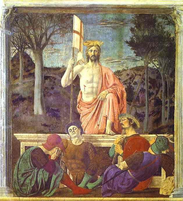 Piero Della Francesca, Resurrezione