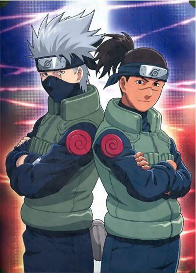 Kakashi and Iruka Sensei :)