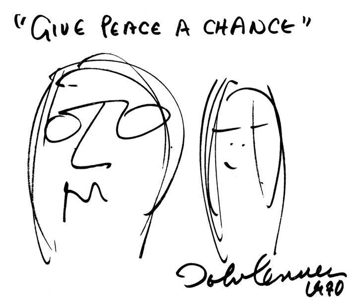Ilustrazione di Lennon