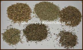 Provençaalse kruidenmix   Het Glutenvrije Kookhoekje