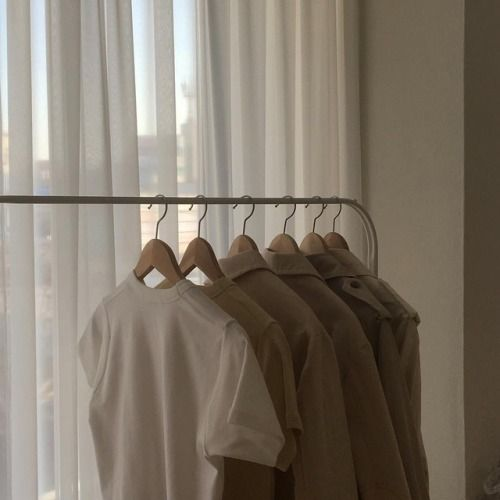 Beige shirts aesthetic