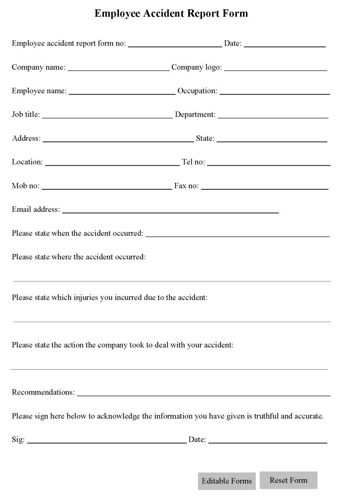 Free Printable Liability Form Template Form (GENERIC) | Sample Printable Legal Forms (For Attorney / Lawyer)