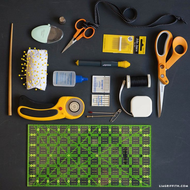 Our Top 15 Sewing Essentials - Lia Griffith