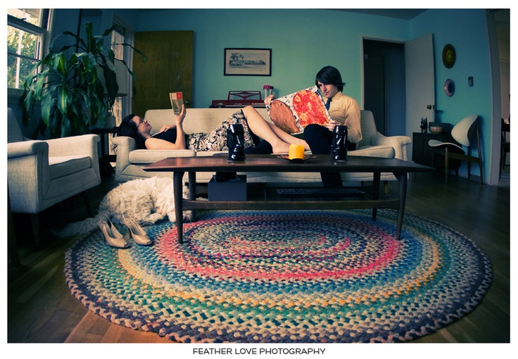 A couple hanging out on the couch too?: At Home, Wedding Photography, Engagement Photo, Vintage Inspiration Wedding, Engagement Session, Love Photography, Anniversaries Shoots, Derick Engagement, Braids Rugs