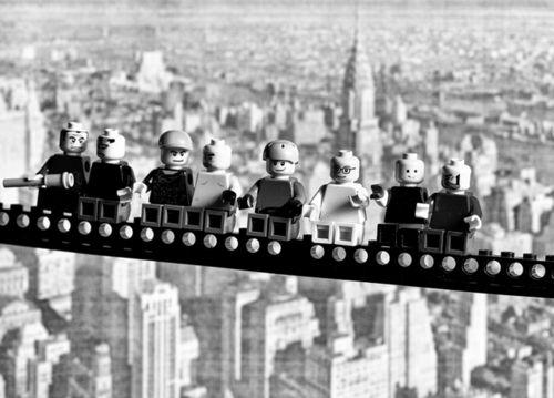 Black and White Photography #Lego #NewYork #Construction