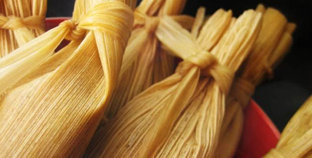 Receta para preparar tamales almendrados / México Desconocido