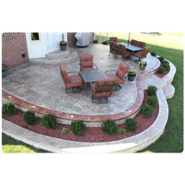 Concrete Patio Designs Diy Stamped And Decorative Concrete Patio Designs  Ideas And Online 2016 Photo Gallery