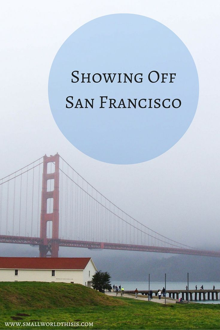 A day of sightseeing in San Francisco.