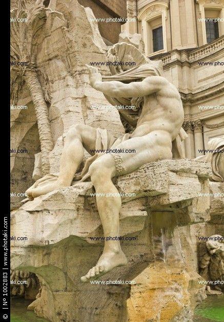 http://www.photaki.com/picture-statue-of-the-orinoco-river-piazza-navona-rome_1002883.htm