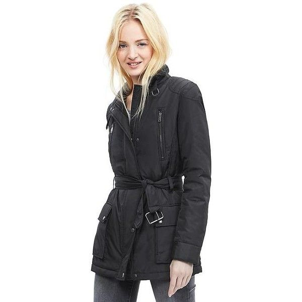 Banana Republic Womens Black Field Jacket Size XS - Black (190 CAD) ❤ liked on Polyvore