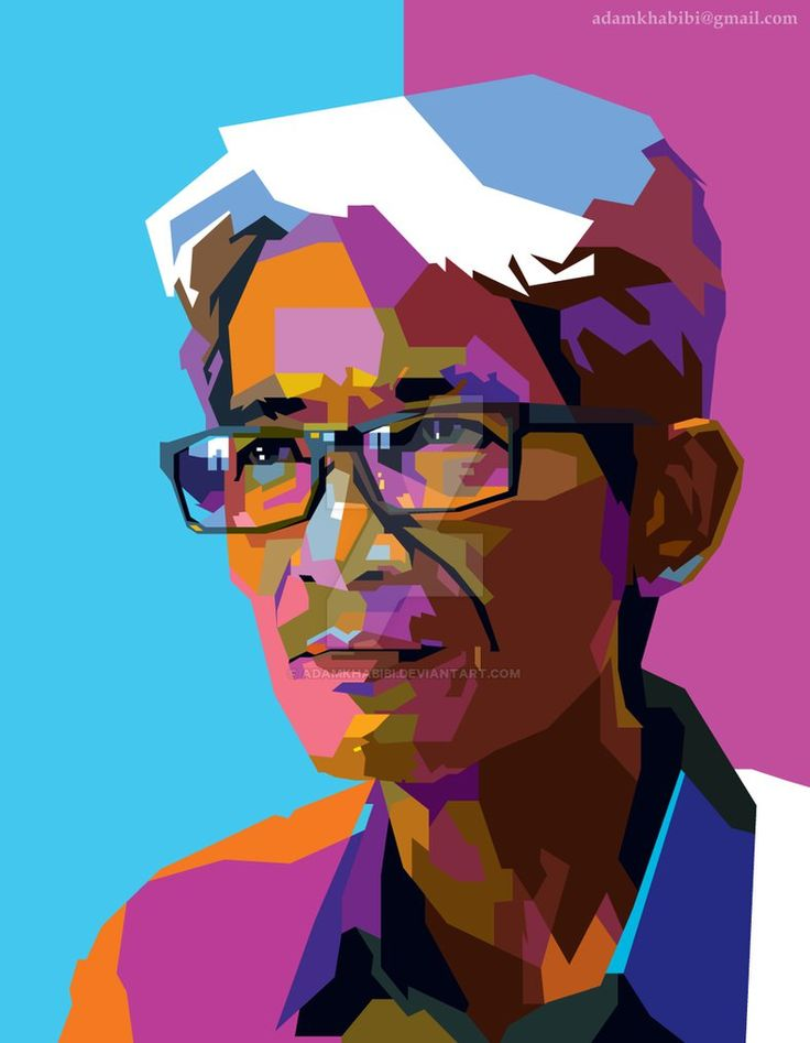 Wedha Abdul Rasyid  ( The Founder of WPAP ) by AdamKhabibi