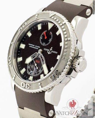 Ulysse Nardin Maxi Marine Diver Ref 263-33-3/95 Price On Request