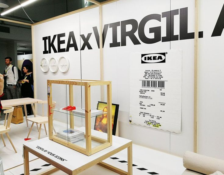 Virgil Abloh S Ikea Collection Will Include A Mona Lisa Lightbox And Giant Receipt Rug Ikea Furniture Stores Nyc Cool Furniture