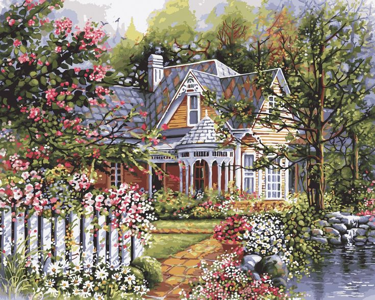 Craft kits for adults gardens beautiful and acrylics for Victorian garden house