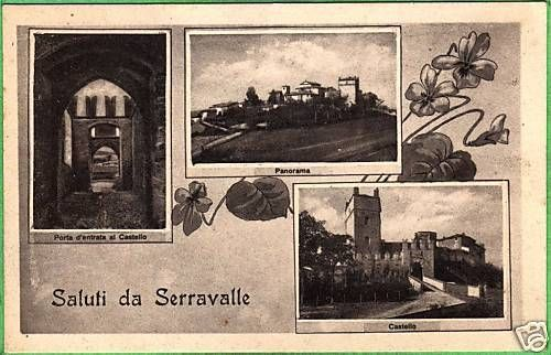 SALUTI-DA-CASTELLO-DI-SERRAVALLE-1930-BELLA