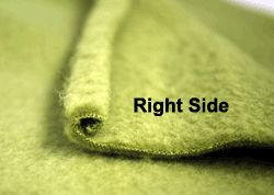 Tips for sewing with fleece.