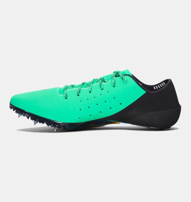 galería lanzar Palabra  UA SpeedForm® Sprint Pro Track Spikes, VAPOR GREEN | Sport shoes, Spike,  Underarmor sneaker