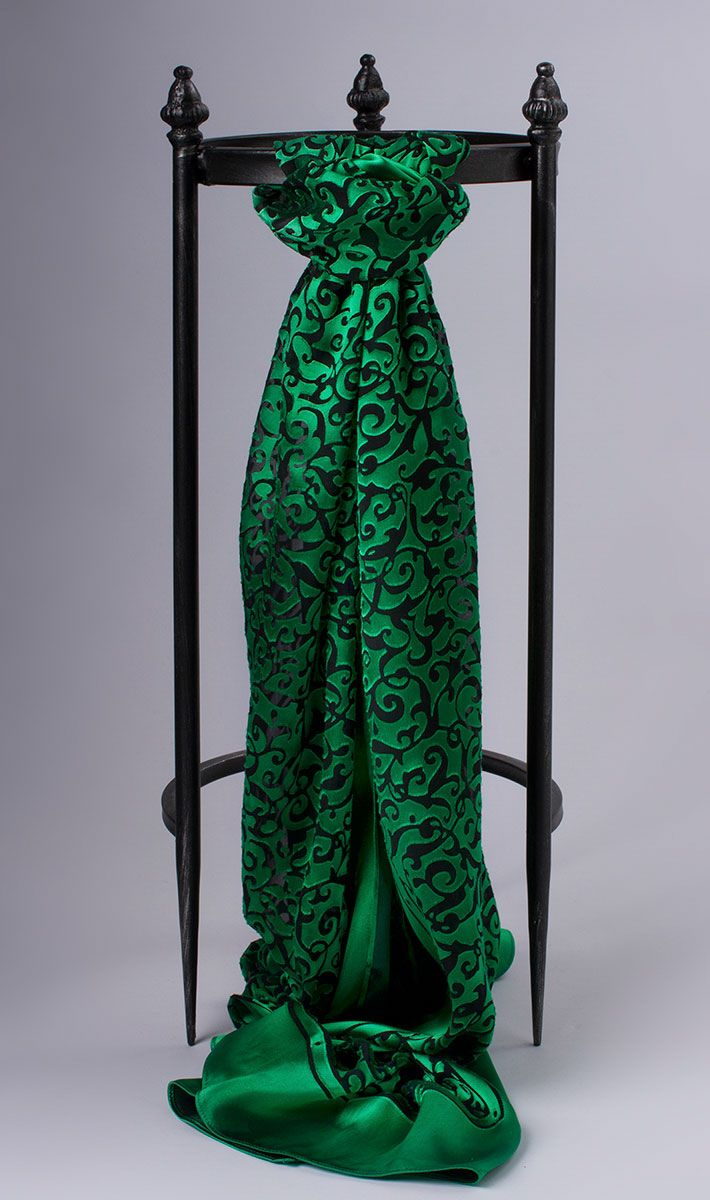 Alhambra green scarf | Carlisle Collection | Per Se | Collections | Lookbook | Carlisle | Holiday 2013 | 29