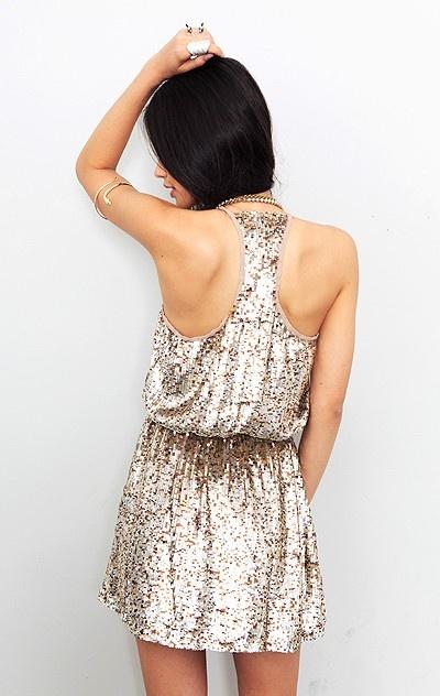 parker- sequin dress