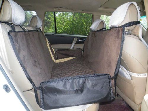 Amazon.com: Waterproof Pet Dog Safety Travel Hammock Car Back Seat Cover: Pet Supplies