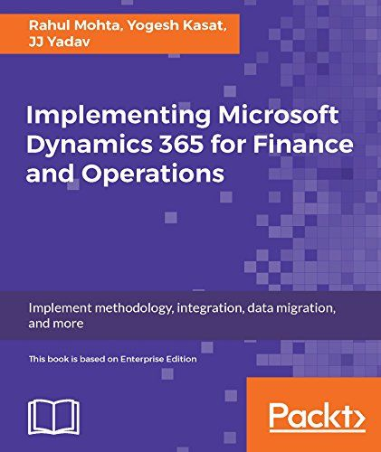 Implementing Microsoft Dynamics 365 for Finance and Operations Pdf Download e-Book