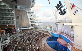Oasis of the Seas - Royal Caribbean Oasis of the Seas Cruise.  You're a beautiful ship, thank you for a great vacation!