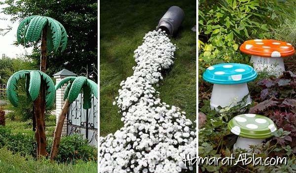 Yapımı Kolay ve Eğlenceli 34 Bahçe Tasarımı