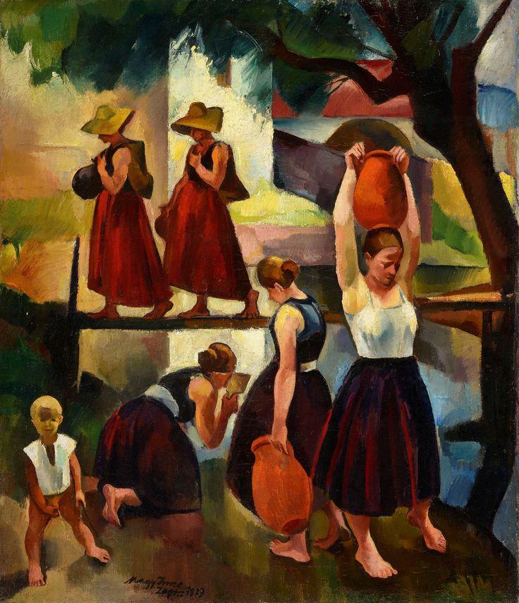 Nagy Imre: Forrás, 1929. © Szépművészeti Múzeum Magyar Nemzeti Galéria