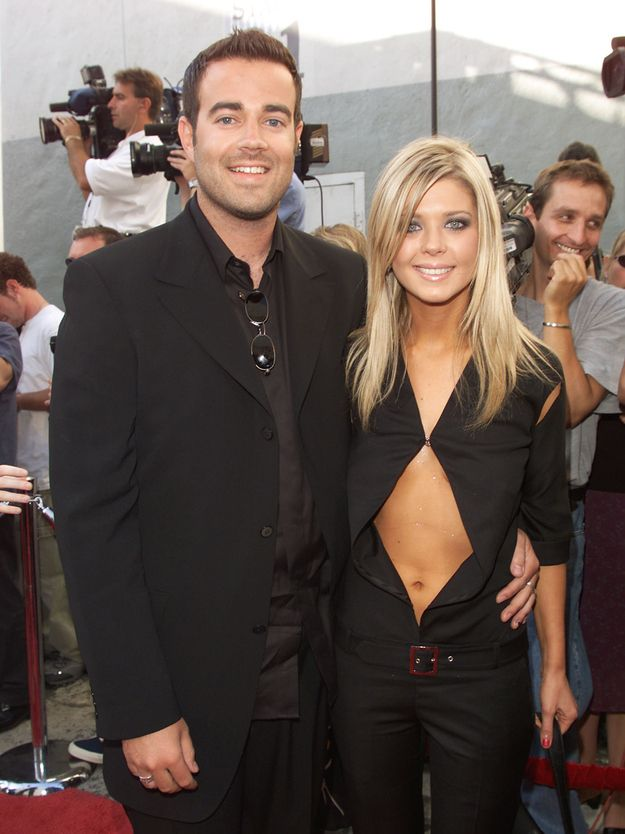 Carson Daly was there with his then-fiancée Tara Reid. | 29 Things You Probably Forgot Happened At The 2000 MTV Movie Awards
