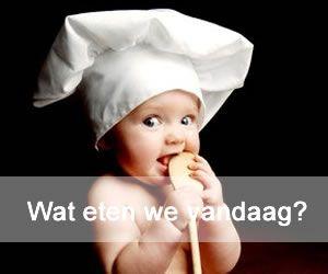 Wat eten we vandaag? Koken voor je baby doe je zelf!