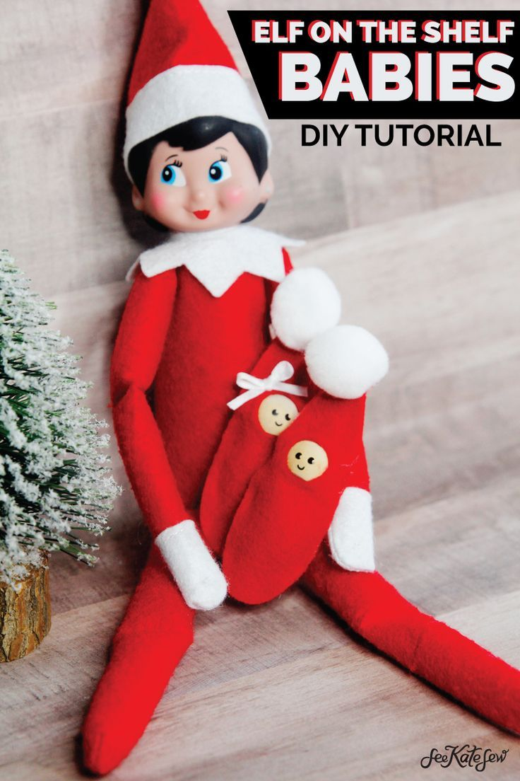 How To Make A Baby Elf On The Shelf Super Easy Elf On The