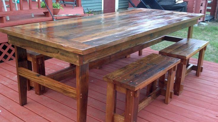Best 25 Rustic Farm Table Ideas On Pinterest