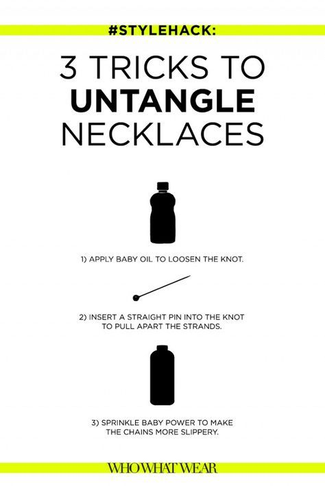 #StyleHack: 3 Easy Tricks to Untangle Necklaces | WhoWhatWear