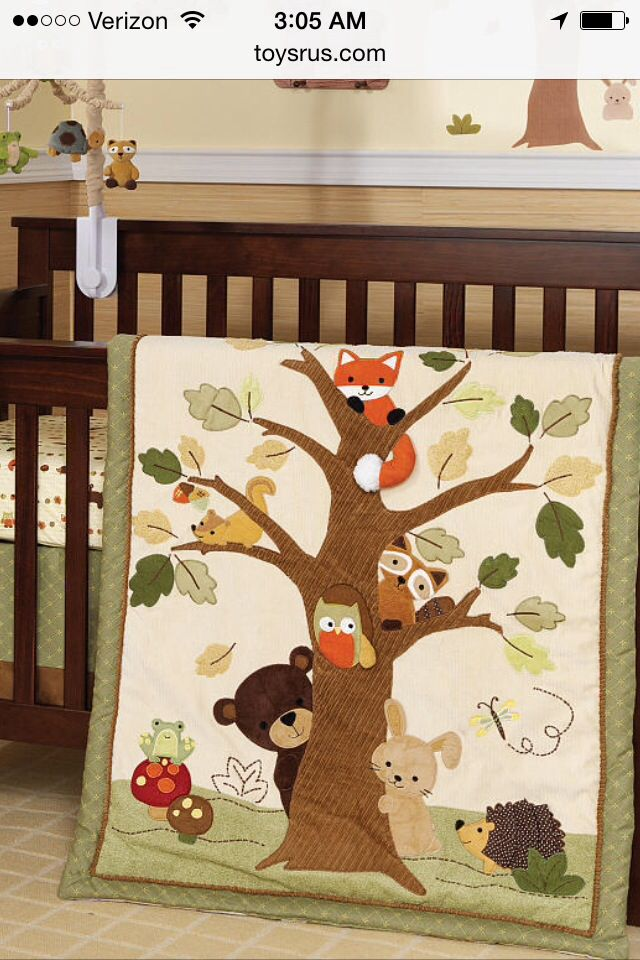 Echo crib bedding by Lambs and Ivy