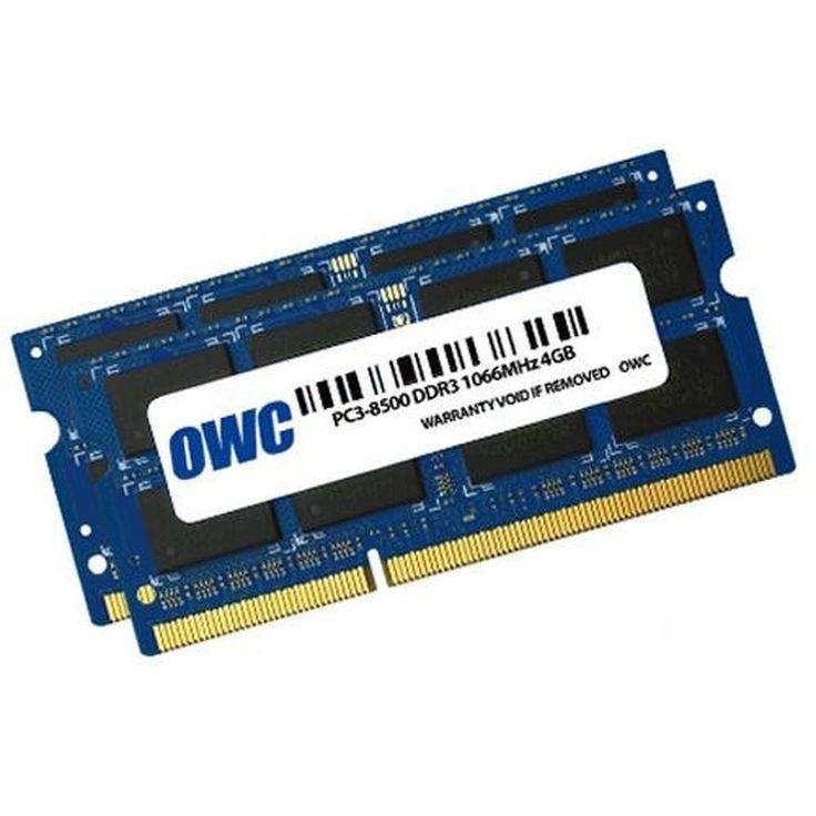 8.0GB OWC Memory Upgrade Kit - 2x 4.0GB PC8500 1066MHz 204 Pin