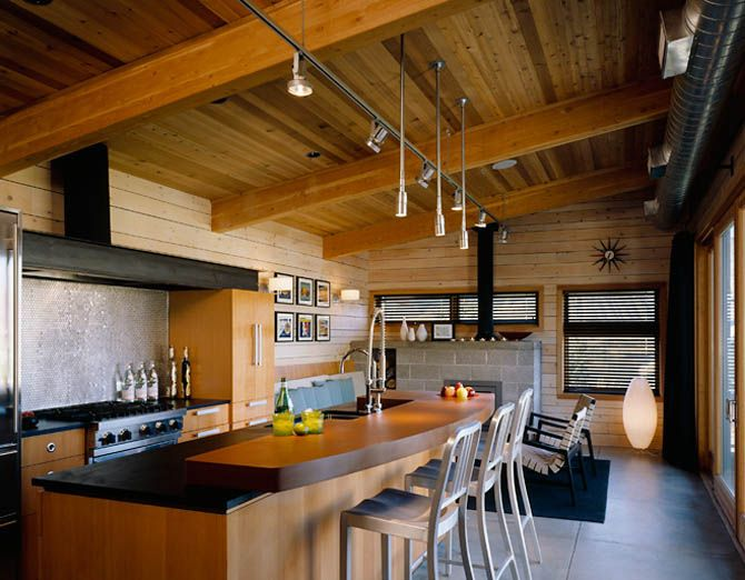 living off the grid is a cabin right for you cabin interior designcabin designmodern - Modern Cabin Design