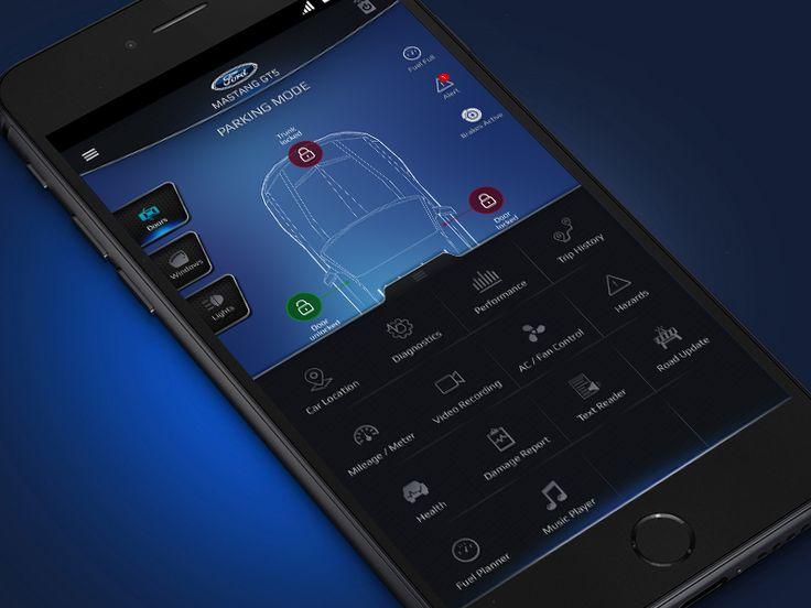 Car Control App Drawar