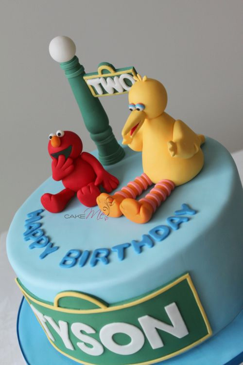 Cake With Fondant Bird : 17 Best ideas about Big Bird on Pinterest Pretty birds ...