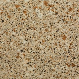 Shop allen + roth 4-in W x 4-in L Saffron Quartz Countertop Sample at Lowes.com