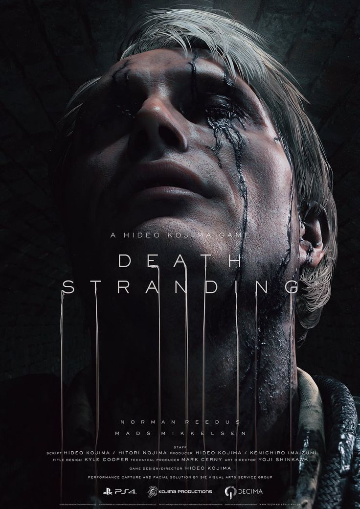 Director Guillermo del Toro and Hannibal's Mads Mikkelsen appear in new trailer for Hideo Kojima's Death Stranding - http://sgcafe.com/2016/12/director-guillermo-del-toro-hannibals-mads-mikkelsen-appear-new-trailer-hideo-kojimas-death-stranding/