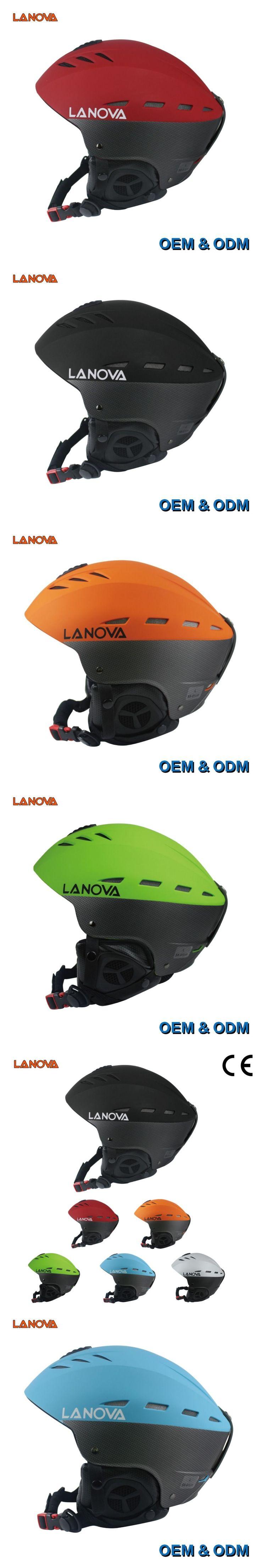 LANOVA Brand Professional Adult Ski Helmet Man Woman Skating/Skateboard Helmet Multicolor Snow Sports Helmets W-205 With 2 Size #skateboardingwomen