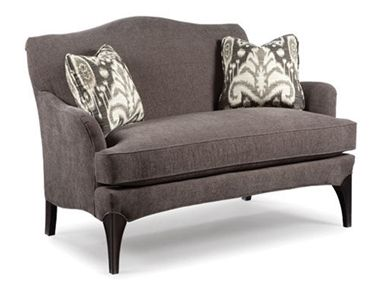 Shop for Fairfield Chair Company Settee, 5729-40, and other Living Room Settees at Englishmans Interiors in Dallas, TX. The quaint package of this settee lends charm to the atmosphere.  With a compact build and attractive looks, this settee makes a versatile addition.