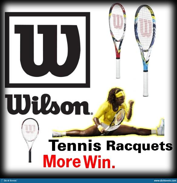 Wilson tennis racquets #win