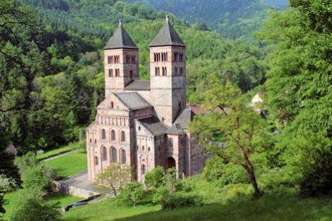Le jardin médiéval à Murbach