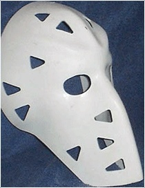 Mike Liut's mask...
