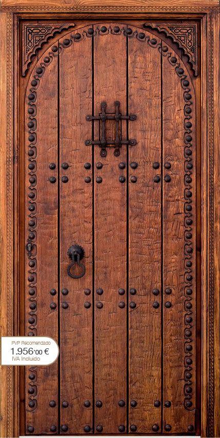 M s de 1000 ideas sobre puertas r sticas en pinterest - Pomos puertas interior ...