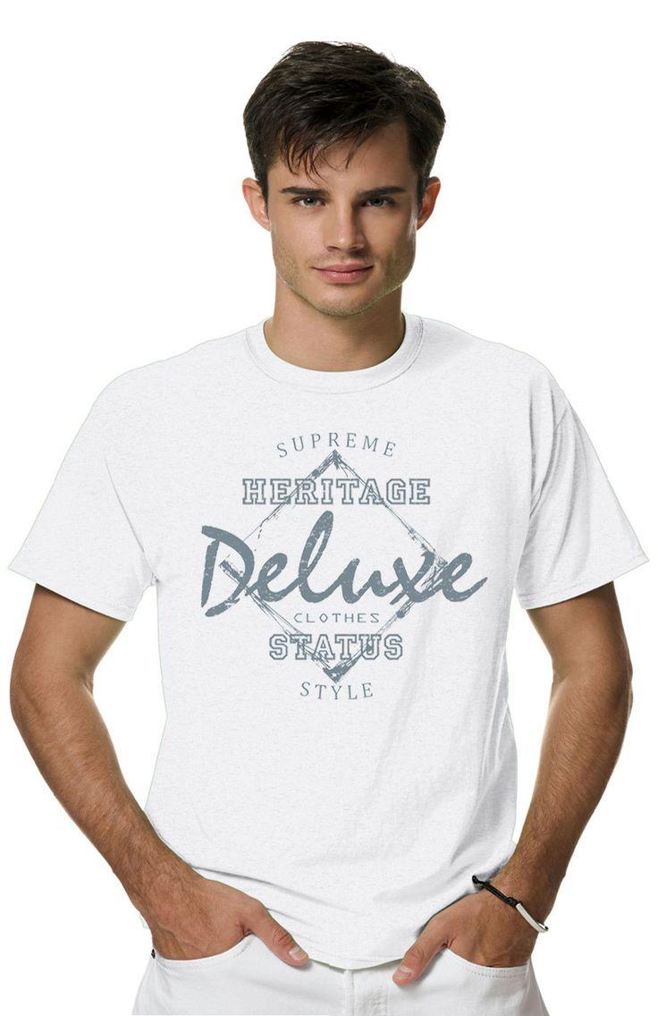 Футболка DELUXEиз коллекции PERSONA пропитана настоящим духом свободы и стиля! Мужская футболка с прикольным принтом