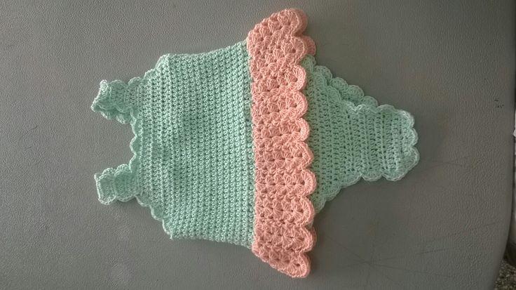 bebes trajes de baño crochet