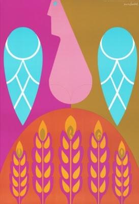 By Simboli Design, 1 9 6 9, Zodiac Poster, Virgo.